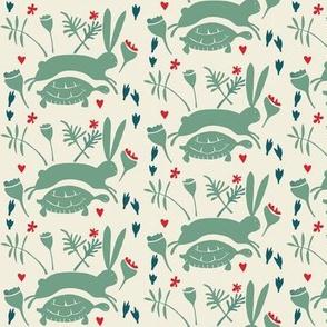 tortoise and hare~cream