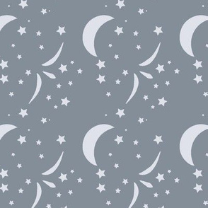 Once Starry Night, Platinum, Star Night, Platinum,, baby nursery