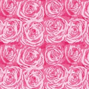 Painted Pink Roses, Medium