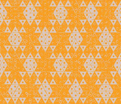 Tortoise - saffron fabric by ormolu on Spoonflower - custom fabric