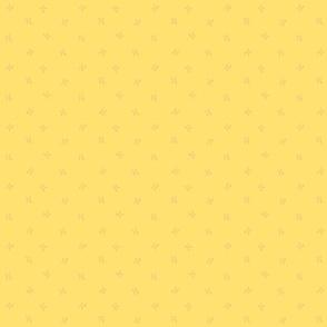 Lazos amarillo fuerte