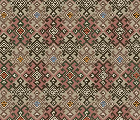 Kilim fabric by minyanna on Spoonflower - custom fabric