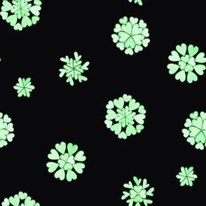 green heart flakes 2