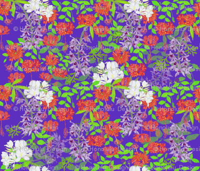 Hawaiian Garden Violet