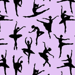 Ballerinas on Lavender // Small