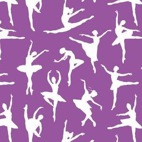 Ballerinas on Purple // Small