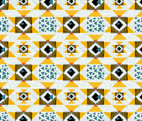 Kilim fabric by toy_joy on Spoonflower - custom fabric