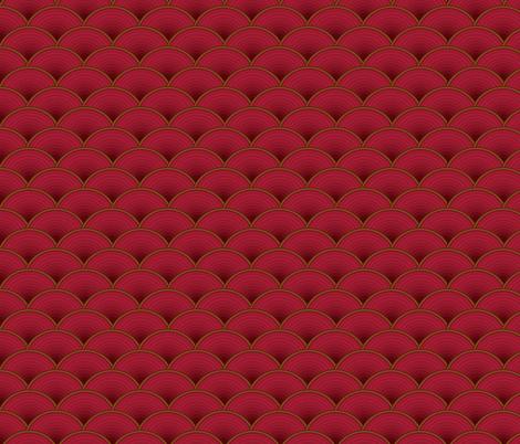 chinese pattern fabric by zazulla on Spoonflower - custom fabric