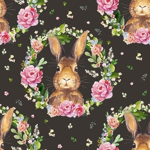 """8"""" 2018 Some Bunny Loves Me /  BROWN"""