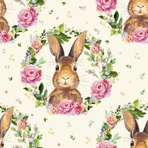 """8"""" 2018 Some Bunny Loves Me / Ivory"""