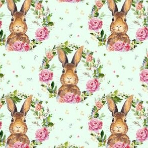 """4"""" 2018 Some Bunny Loves Me /  Minty Green"""