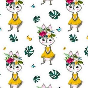 "4"" Summer Bunny VERSION 2 MIX _ MATCH"