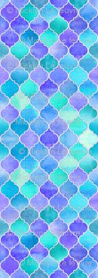 Iridescent Abalone Moroccan - purple, blue, aqua