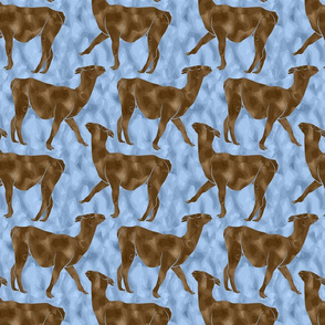 Moody Mod Llamas - chocolate ice small