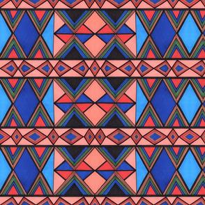 modern kilim pattern