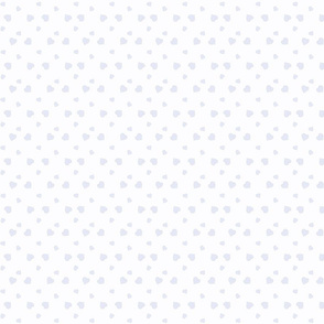 Corazones blanca y lila