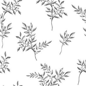 Stranger Branches , Black and White