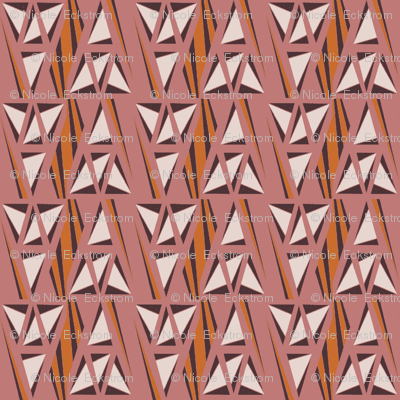 Tribal Origami Triangles