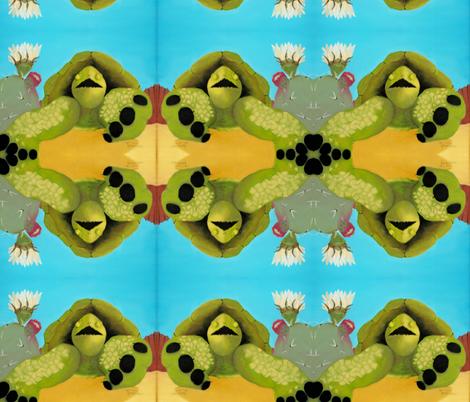 Tortoise design fabric by trotterart on Spoonflower - custom fabric