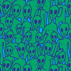 Alien Pattern Tile