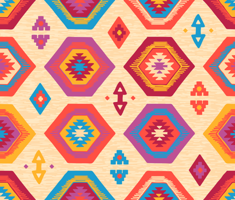 Abundant Kilim fabric by wildnotions on Spoonflower - custom fabric