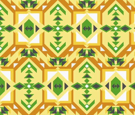 Reflection Direction fabric by rcmzstudio on Spoonflower - custom fabric
