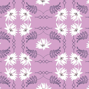Serenity Blush, Orchid Navy Limited Color Palette