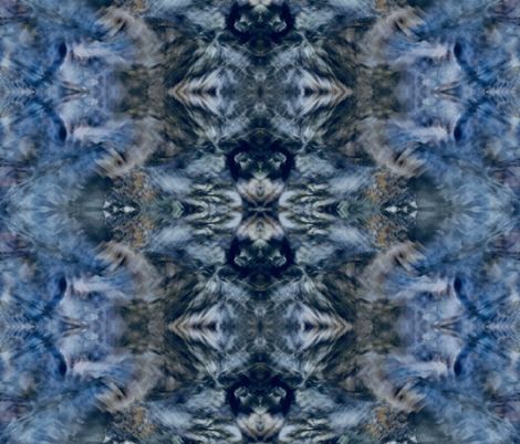 My Mother's Blue China fabric by green_apple_pie on Spoonflower - custom fabric