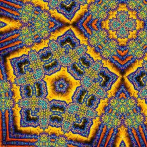 Blue Goddesses Kaleidoscope 2