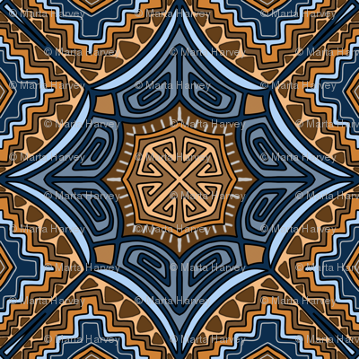 Inpired by Kilim Patterns