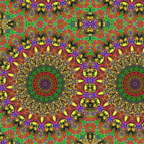 Kitty Klimt Kaleidoscope