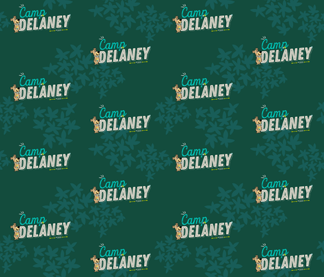 Camp Delaney 1 fabric by printablegirl on Spoonflower - custom fabric