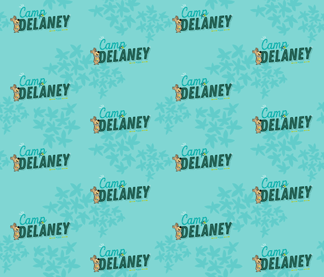 Camp Delaney 2 fabric by printablegirl on Spoonflower - custom fabric