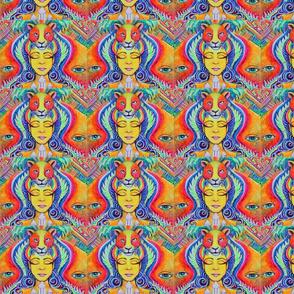 Melissa-Bruck-Maui-Artist-Painting-Acrylic-Visionary-Artwork-Colorful-Live-Art-Electric-jaguar-medicine-neon-trippy-rainbow-vision