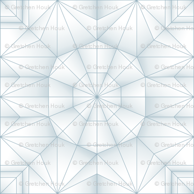 origami folding pattern round