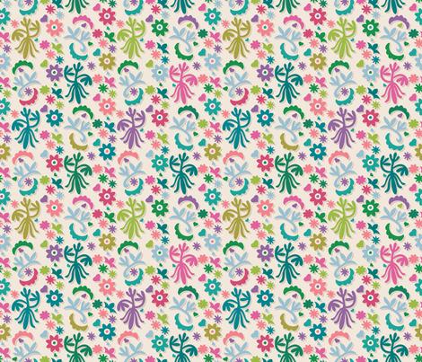 Khiva Green Small fabric by leventetladiscorde on Spoonflower - custom fabric
