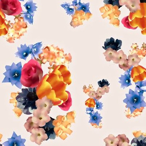 Champagne Floral