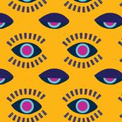 eyes awake mustard