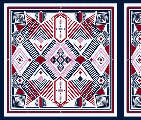 kilim pillow case fabric by arrpdesign on Spoonflower - custom fabric