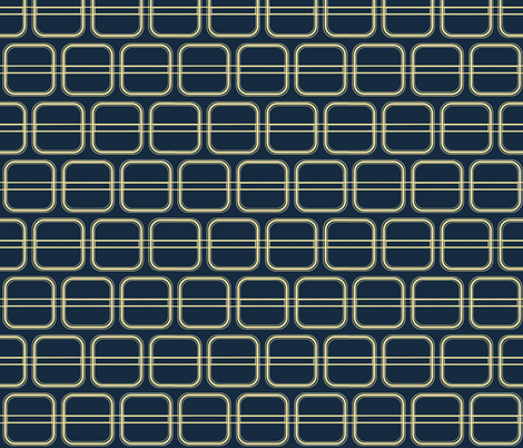 Blue Kilim fabric by arts_and_herbs on Spoonflower - custom fabric