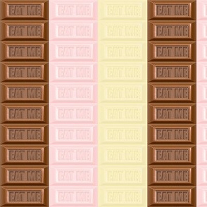 10 chocolate bar milk strawberry white brown pastel pink desserts candy sweets food kawaii cute candies mixed flavors stripes eat me  egl elegant gothic lolita