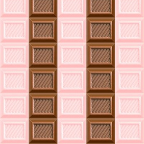 2 chocolate bar milk strawberry brown pastel pink desserts candy sweets food kawaii cute egl elegant gothic lolita candies mixed flavors stripes