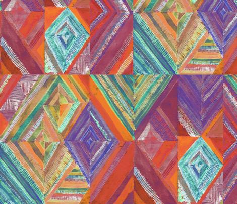 Kilim Travels fabric by ceciliamok on Spoonflower - custom fabric