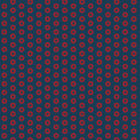 Fishman Microdot Donuts fabric by moonandsundries on Spoonflower - custom fabric