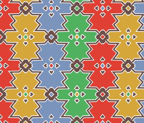kilim rug fabric by kitty_legg on Spoonflower - custom fabric