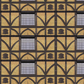 tudor pattern wall