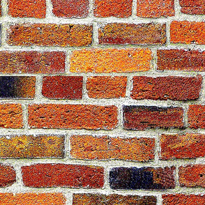 Old Brick Wall -biggest . Amber