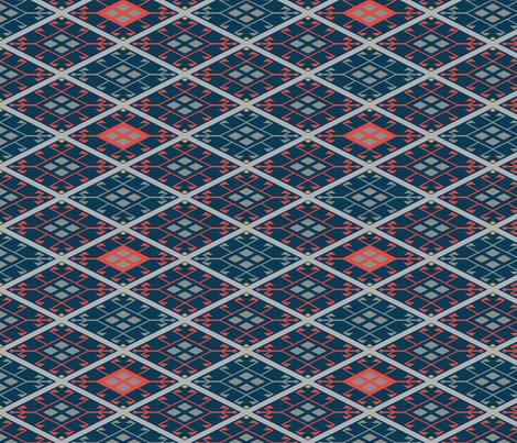Kilim Multi fabric by verergmatltd on Spoonflower - custom fabric