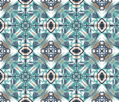 KILIM _! fabric by irishamamonovaart on Spoonflower - custom fabric