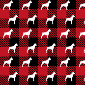 Box Dog Buffalo Plaid